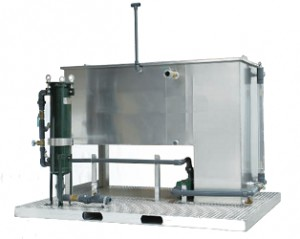 Filter olja vatten separation filteringsmaskin Waste2water