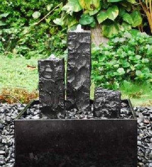 fontäner till trädgård