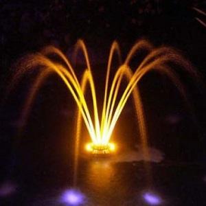 dammpump med belysning